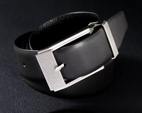 [Free shipping ] KANUOOU First Class Cow Leather Brand New Mens Genuine Leather Man Luxury Belts Gadget  Silver Buckle K8015