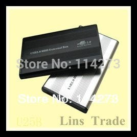 "New 2.5"" inch sata hdd enclosure hard drive disk case mobile laptop for pc notebook #8025"