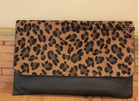 Free shipping!! HOT HOT HOT 2015 fashion leopard clutch bag for women G20450