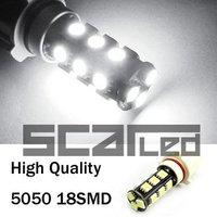 Car Bulbs P13W 5050 18 SMD High Quality Auto LED Head Lights Fog Lamps White
