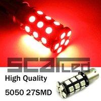 Car Bulbs 1157 5050 27 SMD High Quality Auto LED Tail Lights Brake Lamps P21-5W