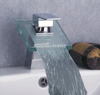 single handle waterfall basin mixer bathroom waterfall faucet, bathroom sink faucet