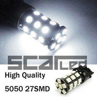 Car Bulbs 3156 5050 27 SMD High Quality Auto LED Tail Lights Fog Lamps P27W