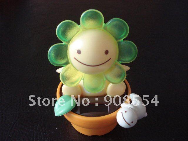 hot selling New style Free shipping via China post air mail 6pcs per lot solar toy car decoration solar novelty toy(China (Mainland))
