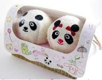 Birthday novelty crafts gift Christmas gift cake towel lovers panda