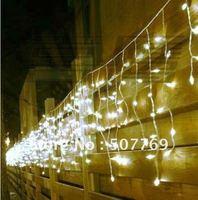 5M 200LEDs lights flashing lane LED String Icicle lamps curtain Christmas home garden festival White 110v-220v EU UK US AU