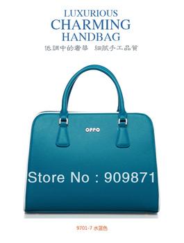 women's handbag ladies bag  9701 - 7 Brand handbags  fashion candy color brief fashion handbag 2013