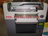 best quality A3 flatbed  cotton t-shirt printer