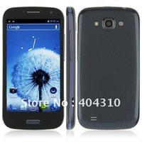 SG post free shipping MTK6577 9300 s3 phone 4.7 Inch multi-touch 1Ghz dual core Android 4.0 3G dual sim GPS WIFI blue B5000
