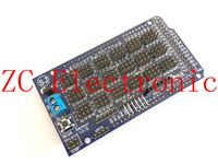 Free Shipping  MEGA Sensor Shield V1.0 V2.0 MEGA 2560 Support IIC, Bluetooth, SD, robot parts mega2560 Sensor Shield for arduino