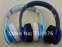 DHL/EMS free shipping 2012 new official color Dark blue & Light blue Over-Ear Headphone for Mobile and MP3/DJ+Control talk