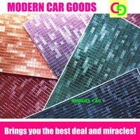 Wholesale 152cm x 30m x 0.26mm 3d mosaic chameleon vinyl film car vinyl car wrap practicable car stickers with air channels