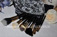 Pro. Travel NEW 10 PCS Makeup Brush Cosmetic Brushes Set Kits &2 Waterproof case