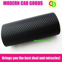 1m*1m sample of black 3d carbon fiber vinyl film car vinyl car wrap with air free channels car covers car stickers car styling