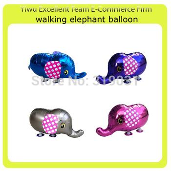 Helium walking balloon foil balloon