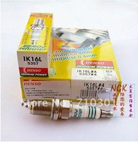 Free shipping!! DENSO POWER IRIDIUM spark plug  5357 IK16L, MADE IN JAPAN. 4PCS/LOT, auto spark plug