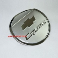 angeno Brand New 2009-2012 Chevy Cruze Stainless Steel Gas Fuel Tank Cover Cap