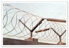Crossed Concertina Coils Razor Wire