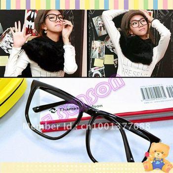 Hot Fashion Women Men Clear Lens Nerd Frame Glasses  712