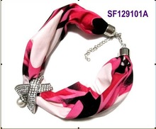 scarf necklace promotion
