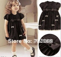 Free shipping  baby dress girl dress Size:80 90 100 110 120