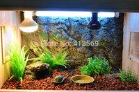 Pet Lamps UVB UVA Reptile Lamp HQI 75W PAR30 Metal Halide Lamp for Reptile Lizards Birds Snakes Turtles Lighting
