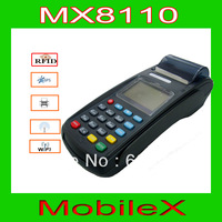 protable POS terminal credit card payment with IC card Magentic card Contactless card reader WiFi and thermal printer(MX8110)