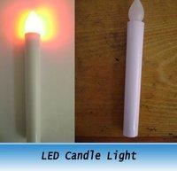 LED Electronic Candles Light / Long Battery Candle Lamp for Christmas auditorium wedding 12pcs