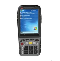 Rugged handheld windows mobile OS Industrial PDA with 1D/2D barcode scanner WIFI GSM/GPRS 3G GPS  and RFID reader (MX8800)