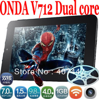 "[Promotion]Onda V712 7"" 1280x800 IPS Screen Dual Core 1.5Ghz 1GB 16GB Android 4.0 Tablet PC Dual Camera HDMI Free Shipping to RU"