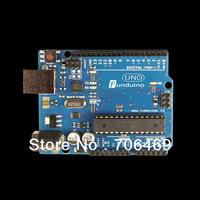 2pcs/lot UNO Rev3 R3 328 ATMEGA328P ATMEGA16U2 Board with Free USB Cable
