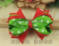 Hair clips for kids , ribbon barrette fashion  kid hairpin  Children hair bow