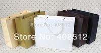 500pcs 32 Wx10 side width x 26cm H rope handle 250gsm paper customizing shopping bag printing
