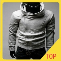 Free Shipping Hot High Collar Coat,Top Brand Men's Jackets,Men's Dust Coat,Men's Hoodeies US size XS,S,M,