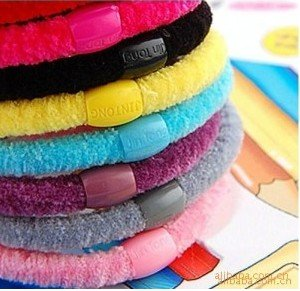 Free shipping   wholesale Multicolor hair rope Elastic hair band rubber band head 200pcs/lot hot hot
