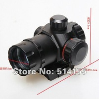 Wholesale HD22D Telescopic Sights Red / Green Dot Reflex Sight High Quality Gun sight Laser sight User Manual  Free Shipping