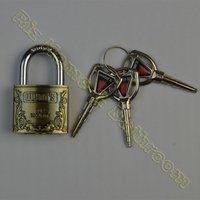 WG4040AF 3 Alloy bullets  Key  zinc alloy padlock security security lock