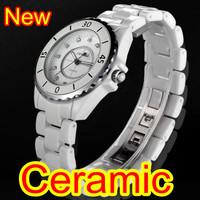 100% SINOBI brand 9699 watches Fashion  ladies watch ceramic men & women's watch waterproof lovers' watch table birthday gift