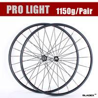 BladeX PRO ROAD CARBON WHEELSET 424T -  24mm Tubular Carbon Wheels; Bicycle Wheel; Ceramic Bearings; Basalt Braking Surface;