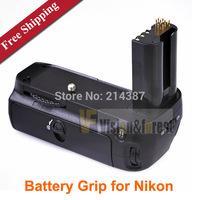 Free shipping Vertical DSLR  Battery Grip for Camera Nikon D80 D90