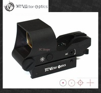 Vector Optics 1x28x40 Tactical Multi Reticle Red Dot Scope Reflex Sight w/ 21mm Weaver Baser Holiday Sale
