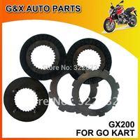 go kart clutch disc GX200, GX160, GX390, GX420, karting clutch plate, karts clutch parts, GX200 clutch disc