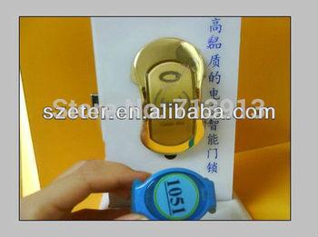 Electric Free Shipping Waterproof Cabinet door lock card reader locker lock  with master key management for locker