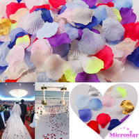 300pcs Silk Petals Rose Flower Engagement Wedding Christmas Party Celebrations Favor Table Decoration
