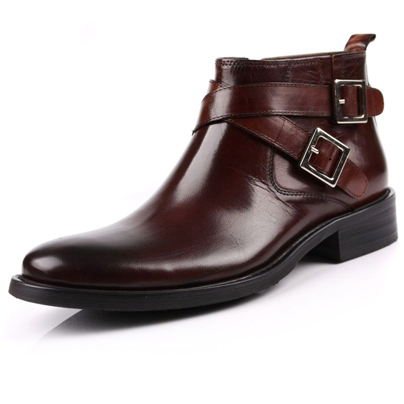 Men&39s Leather Boots With Buckles | Homewood Mountain Ski Resort
