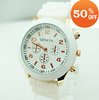Holiday sale   Min order=$10 10 colors Wholesale fashion quartz watch men women ladies students wrist watch agv008