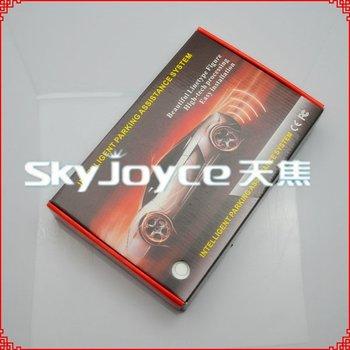 Promotional price !!! 4 Sensors Car Parking System 12v LED Display Indicator Sound Alarm Car Reversing Sensors ID150515