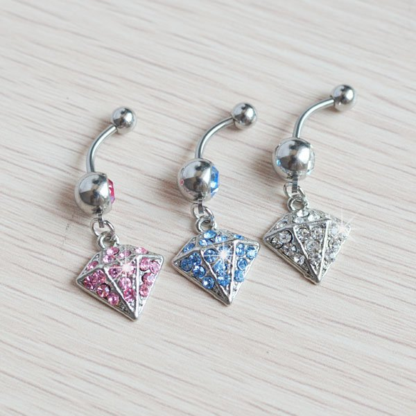 hot sale cone shape belly button ring font b body b font jewelry JF14 354 font May8.thumbnail.JPG