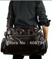 2013 man bag large luggage travel bag PU casual bag male messenger handbag