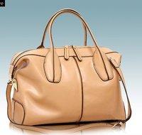 Shanai Genuine leather  women woman  briefcase handbag   messenger  shoulder  bag JX0099-185khaki